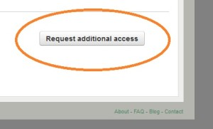 After you log in, this button is available from the home page on the bottom right.